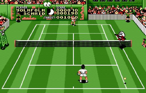 Камео Диззи в игре Pete Sampras Tennis