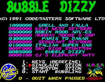 Реклама в Bubble Dizzy