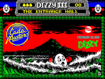 Картина Treasure Island Dizzy в Fantasy World Dizzy