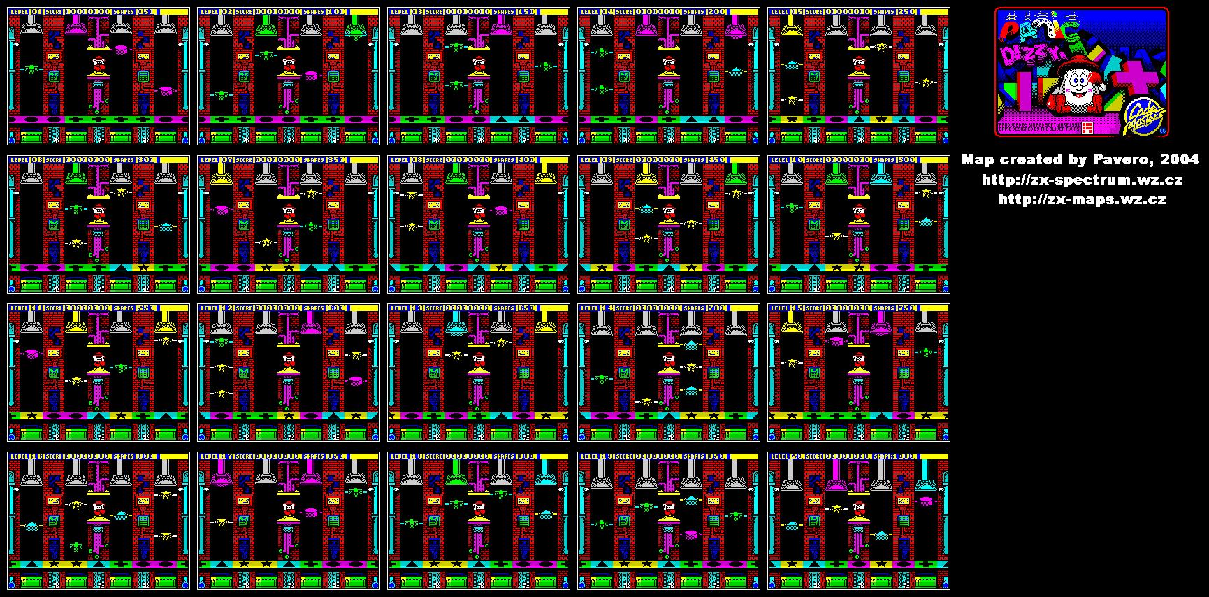 Spellbound Dizzy. Lite version ( C64 [?? Reptar ])