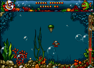 Скриншот Bubble Dizzy на Amiga