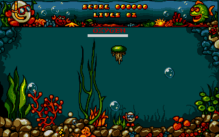 Скриншот Bubble Dizzy на Atari ST