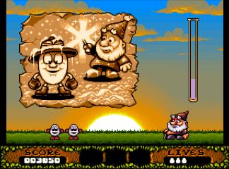 Четвёртый скриншот Christmas Dizzy на Commodore 64/128